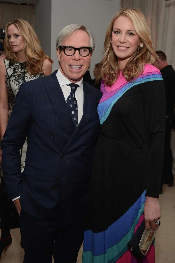 Tommy Hilfiger and Dee Occlepo attend The Ninth Annual CFDA/Vogue Fashion Fund Awards at 548 West 22nd Street on November 13, 2012 in New York City.  (Photo by Andrew H. Walker/Getty Images) Photo: Andrew H. Walker, Getty Images / 2012 Getty Images