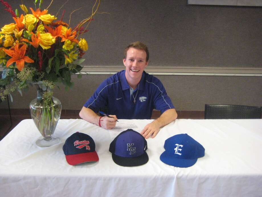 Braxton Wilks of Episcopal signs to play for Kansas State University Baseball Team (Courtesy of Episcopal Athletic Department)