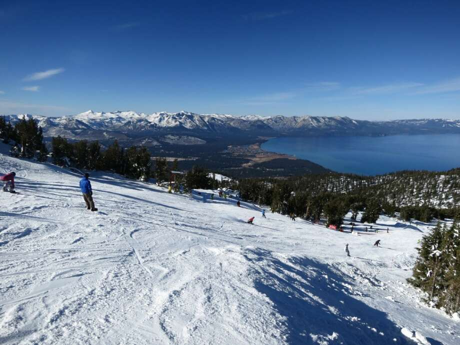 Coming down the California Trail at Heavenly on the opening day of 2012. (Courtesy: Heavenly)