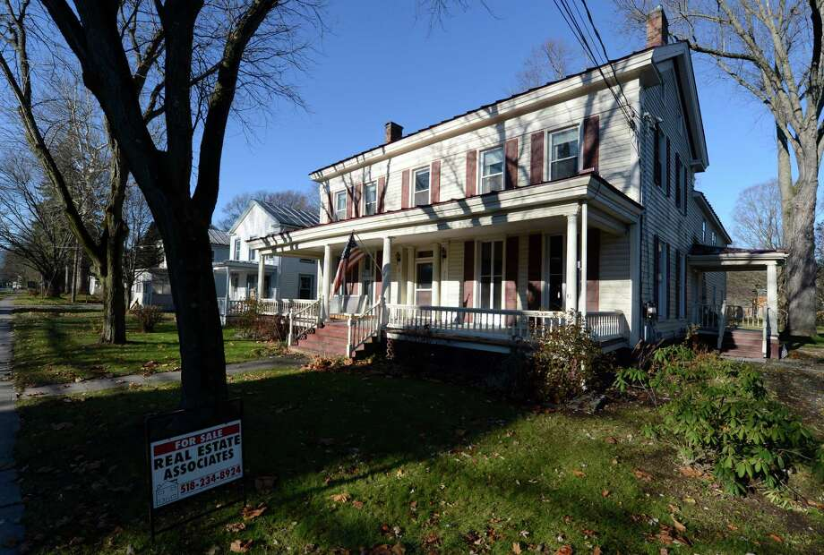 Exterior view of the William Cherry home at 265 Main Street in Schoharie, N.Y., Nov. 14, 2012.  (Skip Dickstein / Times Union) Photo: Skip Dickstein / 00020125A