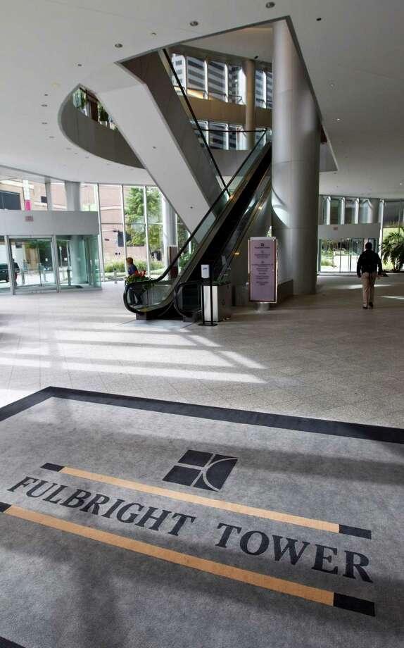 Fulbright Towerin Houston: 725 feet, 52 stories Photo: Nick De La Torre, Staff / © 2012  Houston Chronicle