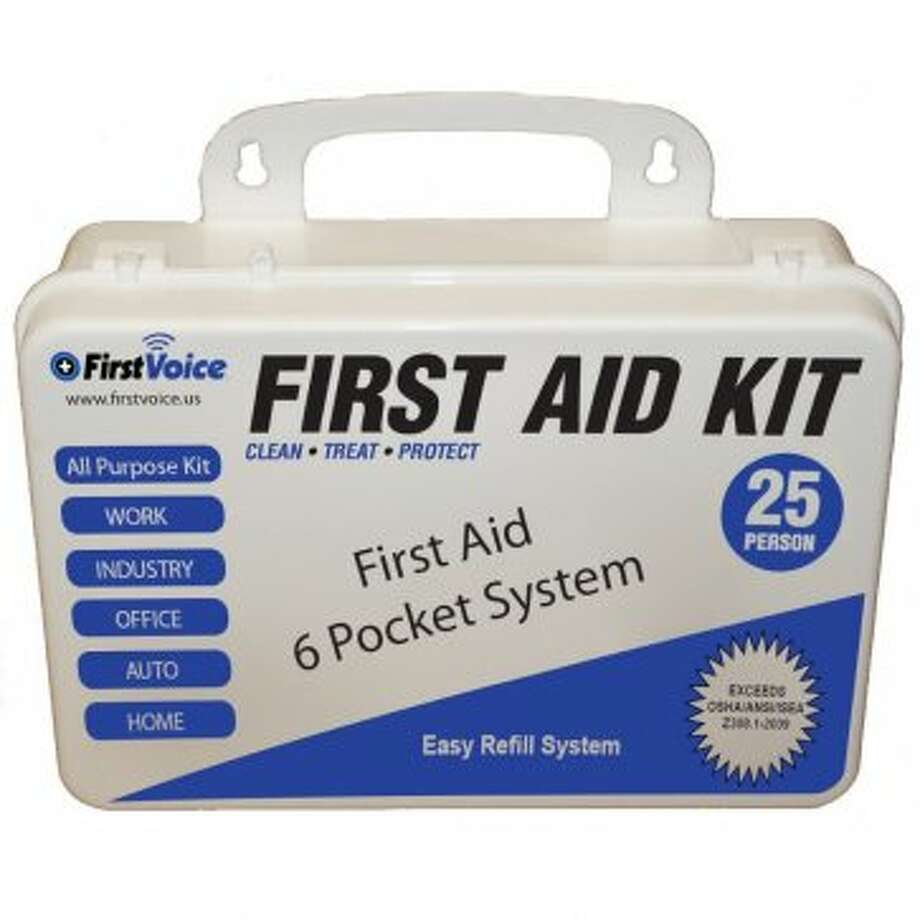 First Aid Kit: Check to make sure it has brain bandages. (Amazon photo)
