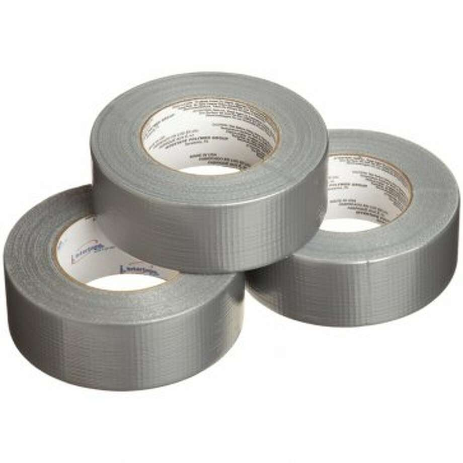 Duct tape: Because it will save your life. Probably. Or fix that leak in your roof, or hem your pants. It's good for whatever. (Amazon photo)