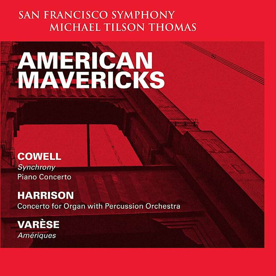 "CD cover: San Francisco Symphony's ""American Mavericks"" Photo: SFS Media"