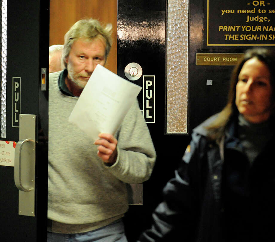 TIMES UNION STAFF PHOTO BY SKIP DICKSTEIN - Daniel Lorello leaves Albany, New York City Court this morning January, 28, 2008 after his arraignment for allegedly taking artifacts from the State Archives and selling them on Ebay. Photo: SKIP DICKSTEIN