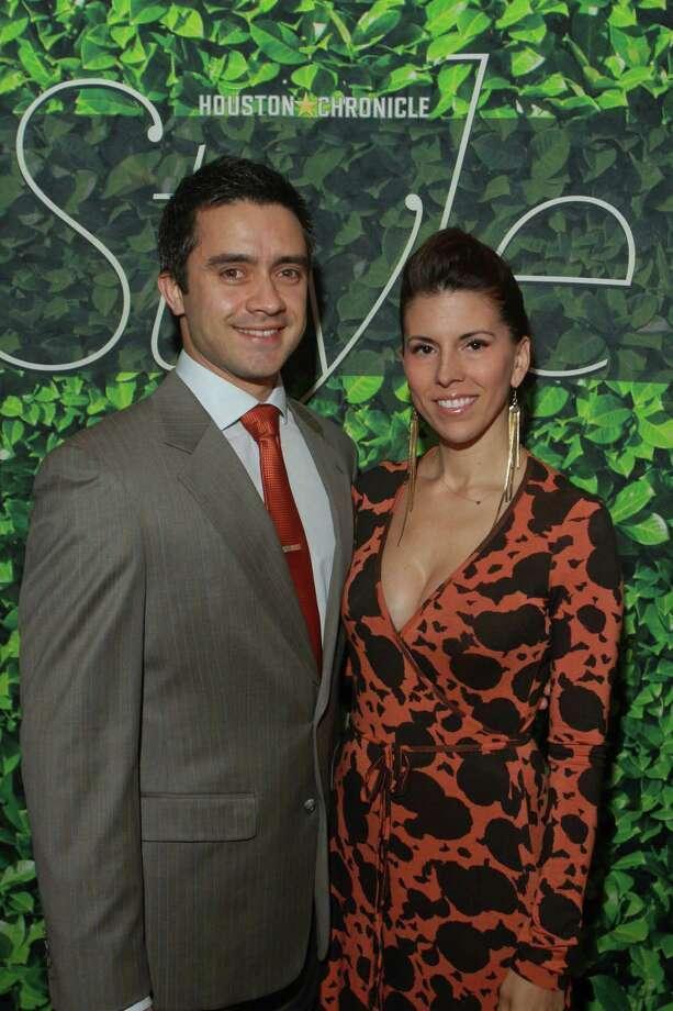 (For the Chronicle/Gary Fountain, November 14, 2012)  Fernando Aramburo and Sarah Walters. Photo: Gary Fountain, For The Chronicle / Copyright 2012 Gary Fountain.