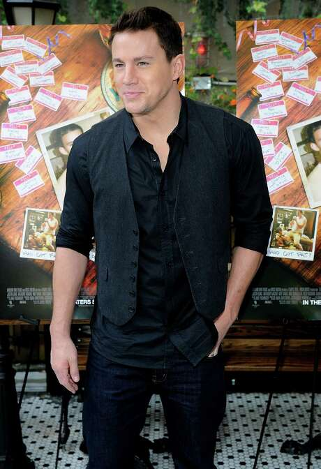 "Channing Tatum attends the ""10 Years"" Brunch Reunion event at the Hotel Chantelle in New York, September 16, 2012. (Brad Barket/Abaca Press/MCT) Photo: Brad Barket, MBR / Abaca Press"