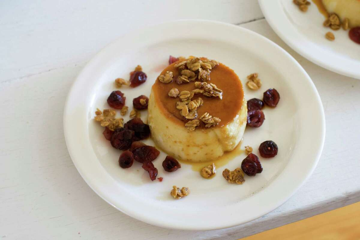 23 creative Thanksgiving recipes Ginger flan with caramelized oats and calvados cranberries. Get the recipe here.