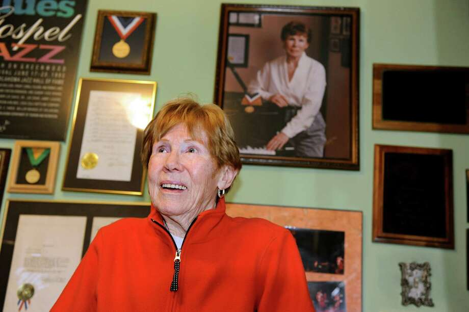 Jazz pianist Lee Shaw in  the music room on Thursday, Nov. 8, 2012, at her home in Colonie, N.Y. (Cindy Schultz / Times Union) Photo: Cindy Schultz / 00020034A