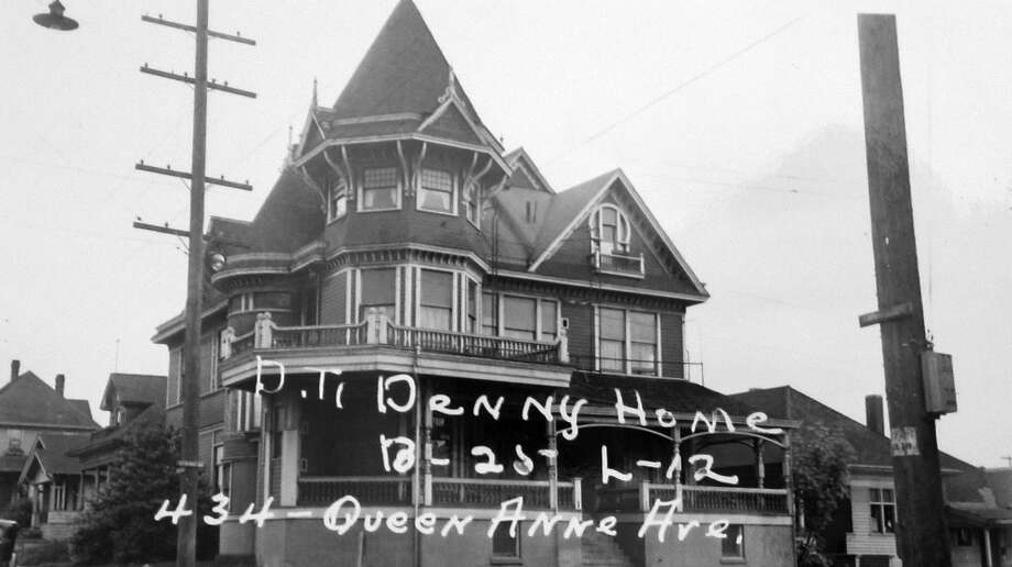 This picture from 1937 shows the home at Queen Anne Avenue North and Republican Street that lasted from 1885 until May 1971. Photo: Puget Sound Regional Archives