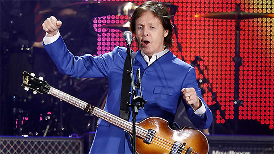 Paul McCartney keeps the Beatles' legacy alive.  Photo: Mayra Beltran, . / © 2012 Houston Chronicle