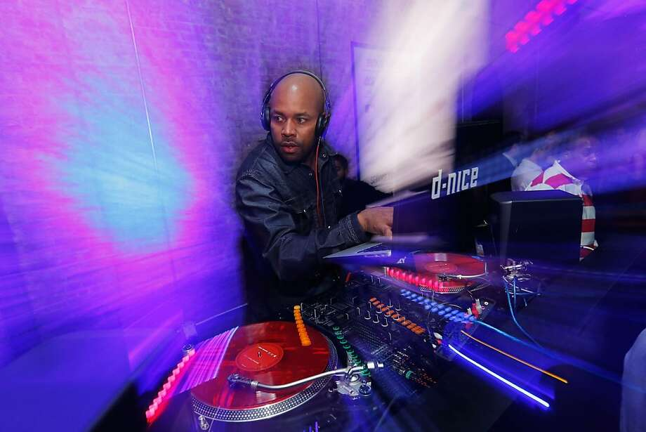 DJ Nice spins at the TopSpin 2012 charity event at 82 Mercer on November 14, 2012 in New York City. Photo: Jemal Countess, Getty Images