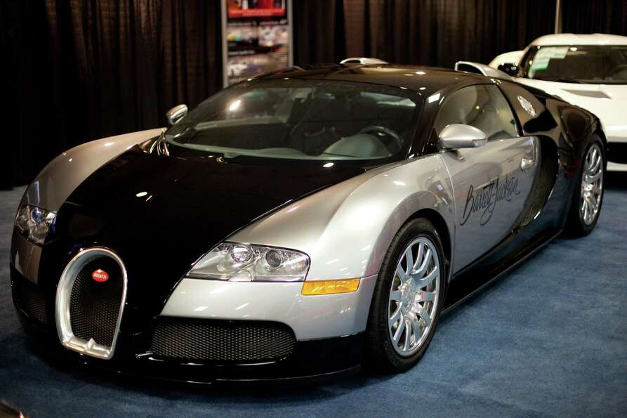 A 1001 horsepower Bugati Veyron, a car with a top speed of 253 miles per hour, is shown on Wednesday