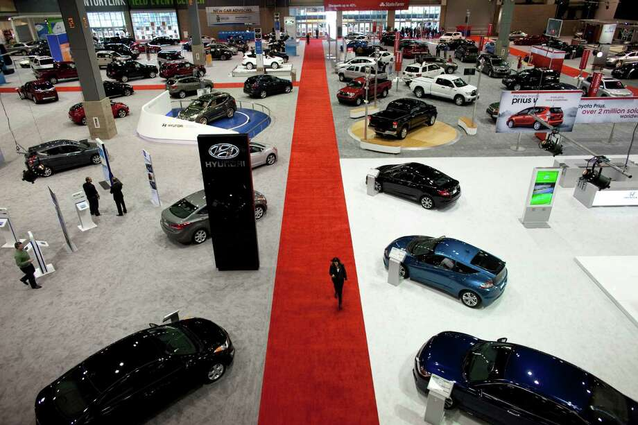 The floor of the Seattle Auto Show is shown on Wednesday, November 14, 2012 during the opening day of the show at CenturyLink Field Events Center. Photo: JOSHUA TRUJILLO / SEATTLEPI.COM