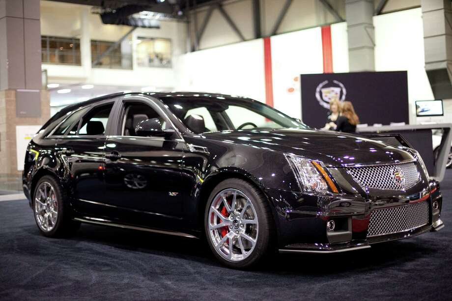 A Cadillac CTS-V Wagon is shown on Wednesday, November 14, 2012 during the opening day of the Seattle Auto Show at CenturyLink Field Events Center. Photo: JOSHUA TRUJILLO / SEATTLEPI.COM