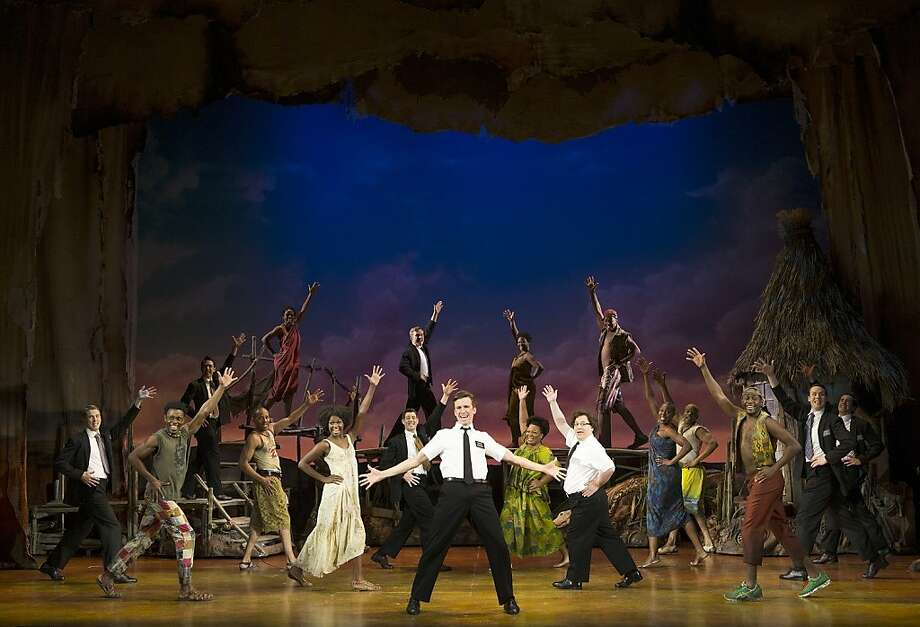 """In """"The Book of Mormon,"""" opening Wednesday at the Curran, Gavin Creel plays missionary Elder Price: """"I am perfect, I am blessed, I am meant for greatness."""" Photo: Joan Marcus"""