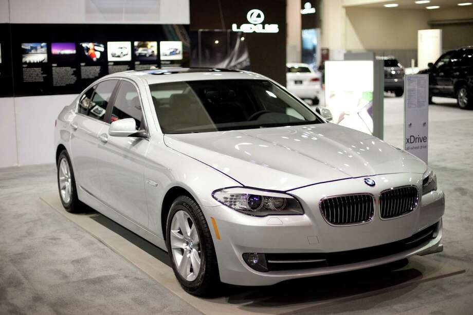 A BMW 528i is shown on Wednesday, November 14, 2012 during the opening day of the Seattle Auto Show at CenturyLink Field Events Center. Photo: JOSHUA TRUJILLO / SEATTLEPI.COM