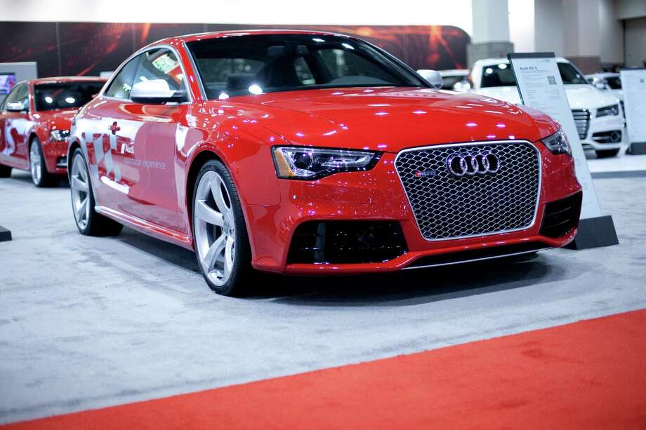 An Audi RS 5 is shown on Wednesday, November 14, 2012 during the opening day of the Seattle Auto Show at CenturyLink Field Events Center. Photo: JOSHUA TRUJILLO / SEATTLEPI.COM