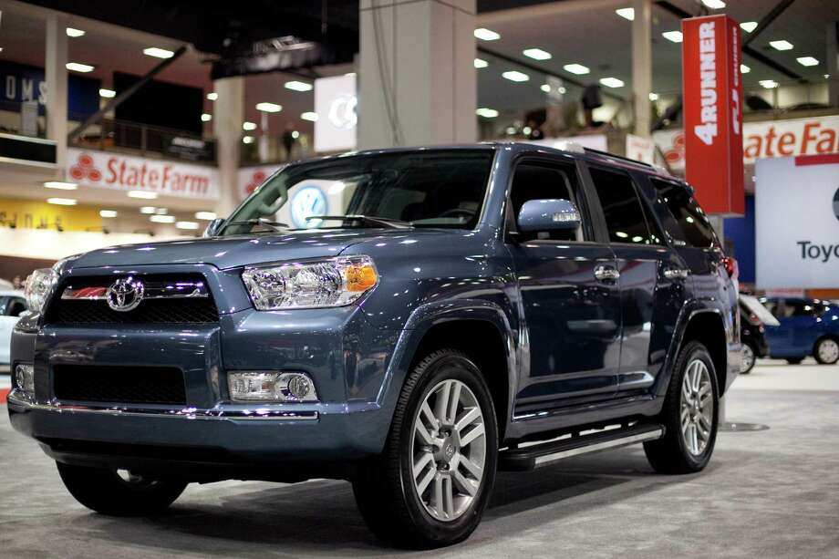 A Toyota 4Runner is shown on Wednesday, November 14, 2012 during the opening day of the Seattle Auto Show at CenturyLink Field Events Center. Photo: JOSHUA TRUJILLO / SEATTLEPI.COM