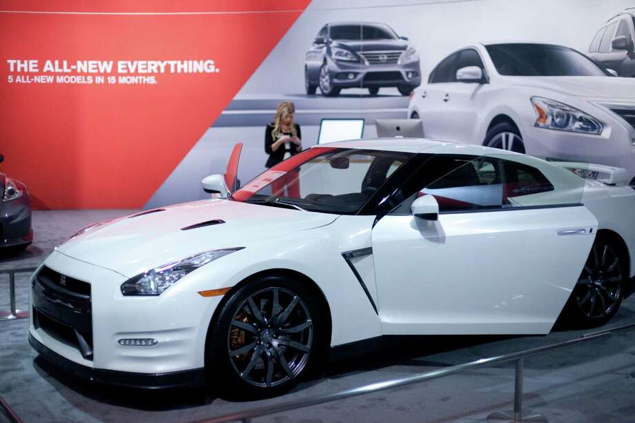A Nissan GT-R is shown on Wednesday, November 14, 2012 during the opening day of the Seattle Auto Show at CenturyLink Field Events Center. Photo: JOSHUA TRUJILLO / SEATTLEPI.COM