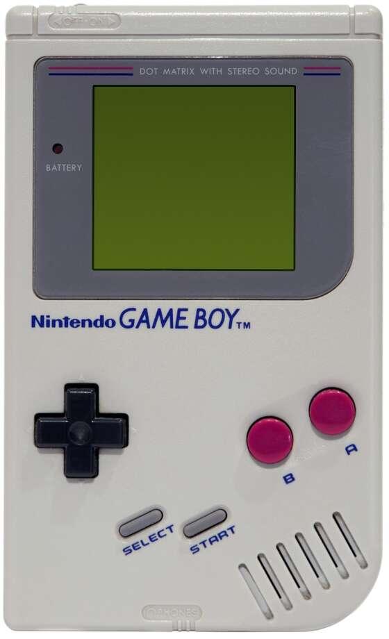 Original Nintendo Gameboy with Tetris running