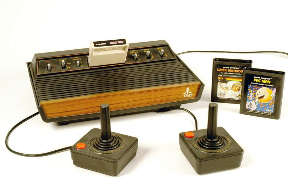 In this photo provided by Strong National Museum of Play is the Atari video game system inducted int