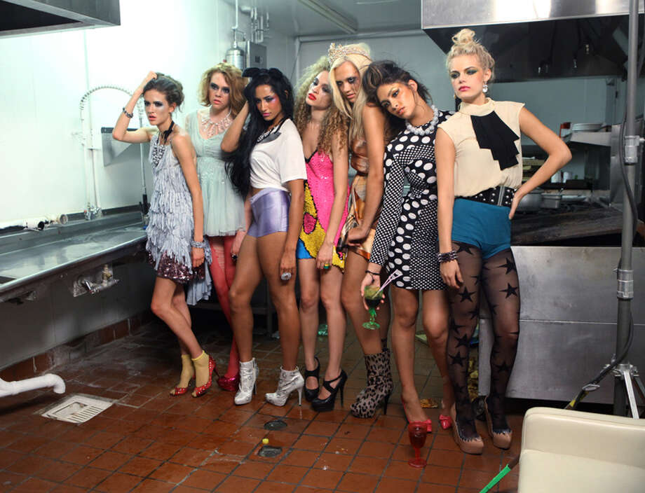 "America's Next Top Model -- ""The Girl Who Licks the Floor""pictured left to right: Victoria, Brittany, Kiara, Nastasia, Laura, Allyssa and KristinCycle 19Photo: Patrick Wymore/The CW©2012 The CW Network, LLC. All Rights Reserved Photo: Patrick Wymore, The CW / ©2012 The CW Network, LLC. All Rights Reserved"