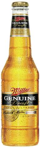 Miller Genuine Draft: About 143 calories per 12 ounces.