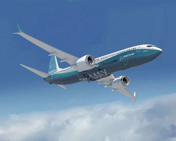 An artist's depiction of the Boeing 737 MAX 9. Photo: Boeing Graphic, The Boeing Co. / Copyright © 2012 Boeing. All Rights Reserved.