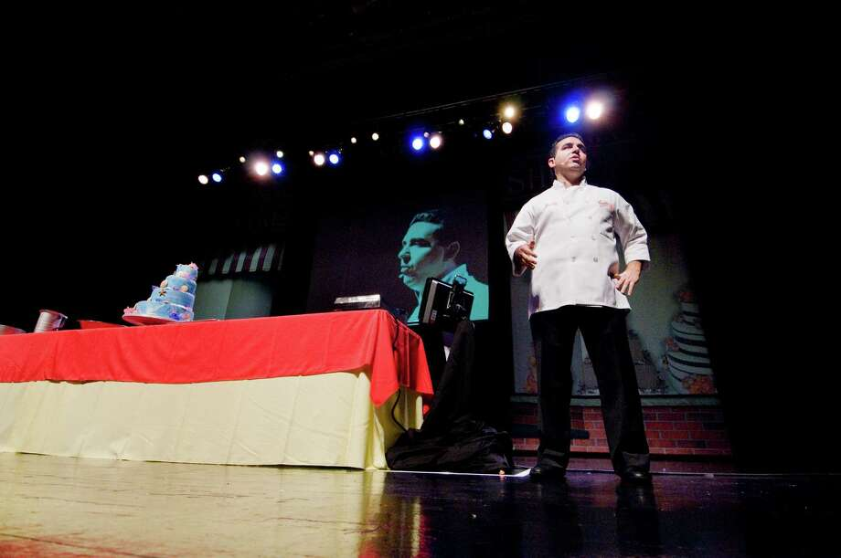 "Reality TV star Buddy Valastro - of the TLC ""Cake Boss"" series - will present a live show ""Homemade for the Holidays"" at the Warner Theatre in Torrington on Sunday, Nov. 25. Photo: Contributed Photo"