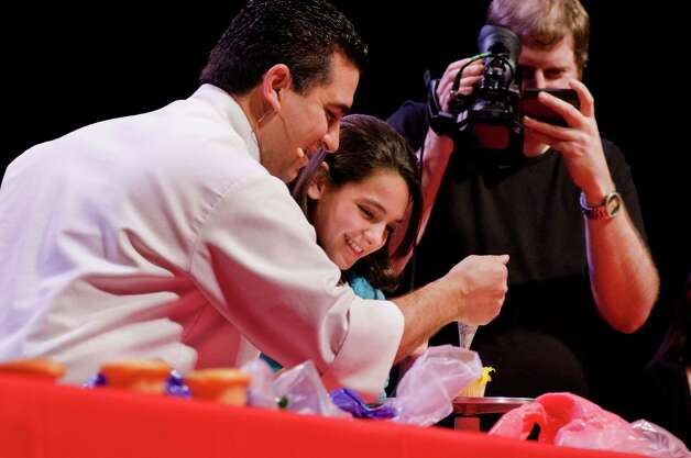 "Contests and other types of audience participation will be part of ""Cake Boss"" Buddy Valastro's live holiday show Sunday, Nov. 25 at Torrington's Warner Theatre, Photo: Contributed Photo"