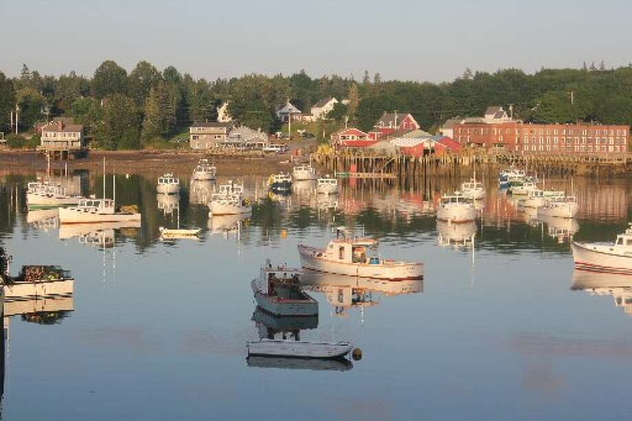 As the sun starts to set on Bass Harbor, Maine, it's clear that life for many in this community near Southwest Harbor is centered around boating.