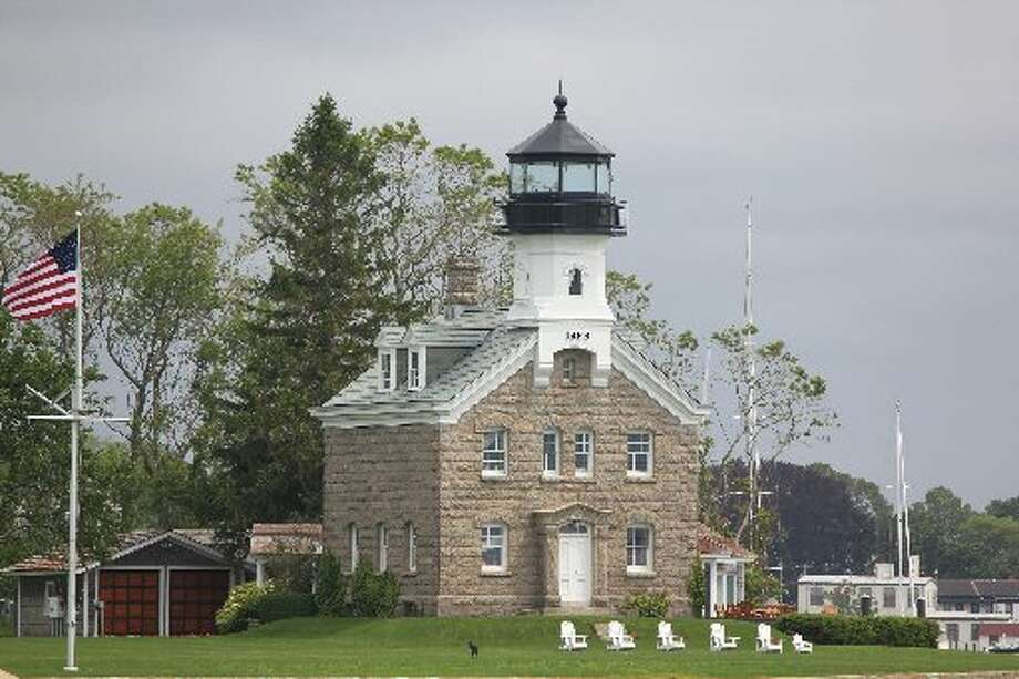 The Morgan Point Light no longer warns boaters at the entrance to the Mystic River in Connecticutt. The former lighthouse, built in 1868, is now a private residence.