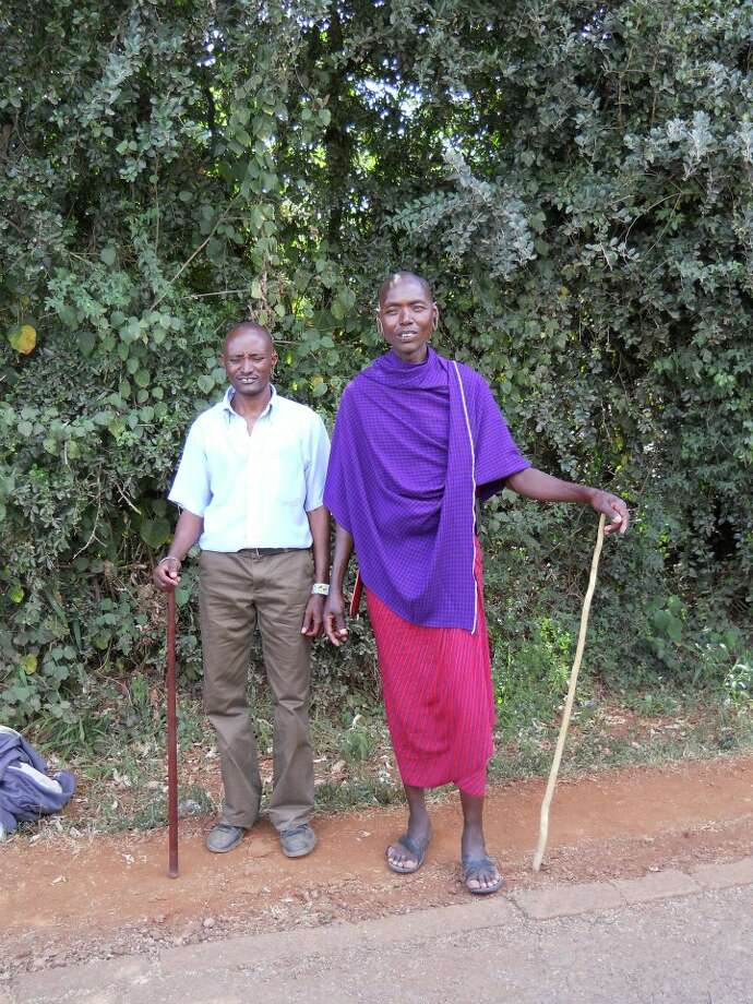 Local Maasai men (Photo: Ken Chitwood)