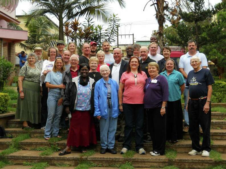 The October 2012 Kenya Vision Team was composed of members from several local LC-MS churches (Photo: