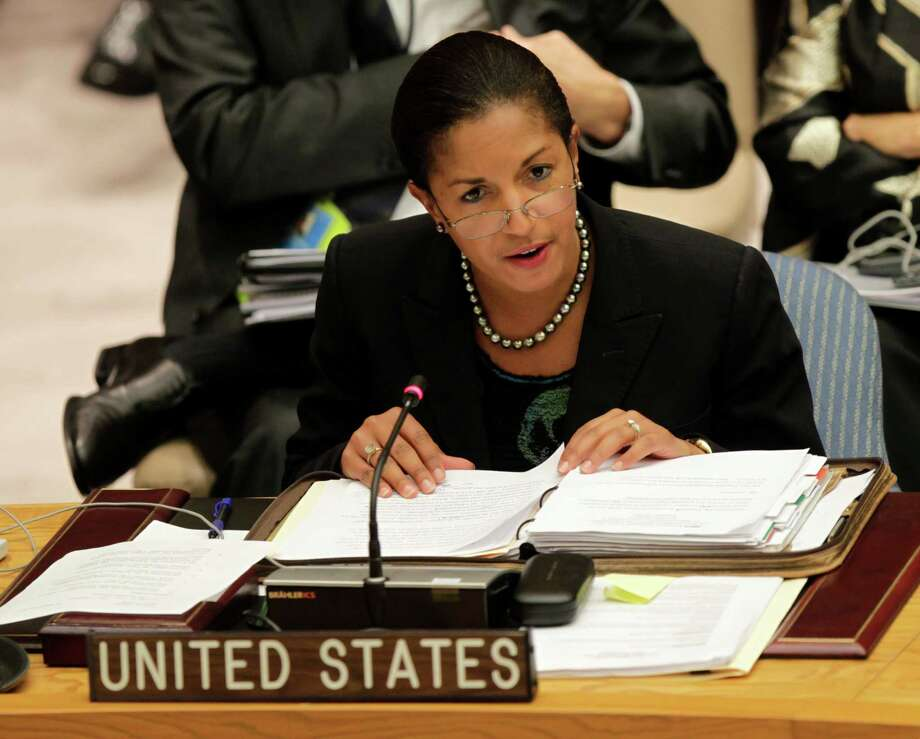 One of our readers defends Susan Rice, the The U.S. Ambassador to the United Nations, against the attacks of Republican Sens. John McCain and Lindsey Graham.   (AP Photo/Seth Wenig) Photo: Seth Wenig, Associated Press / AP