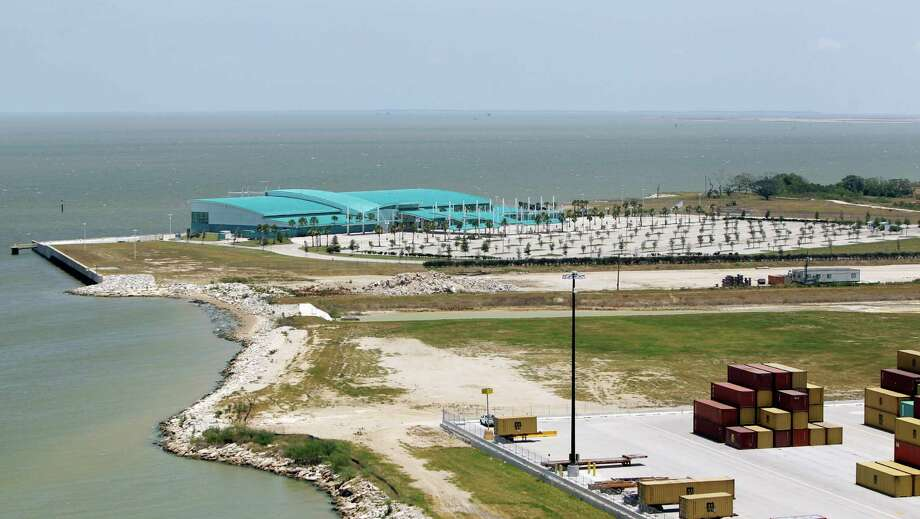The Bayport Cruise Terminal, built for $108.4 million, will get regular service in the form of two contracts with Princess Cruises and Norwegian Cruise Line, which used to call on a terminal at Barbours Cut but left in 2007. Photo: Melissa Phillip, Staff / © 2010 Houston Chronicle