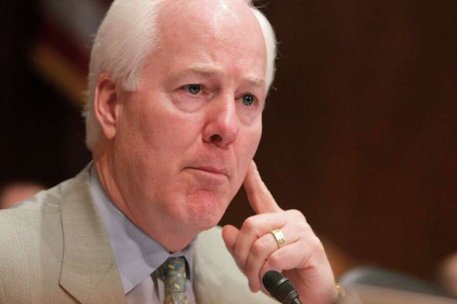 Sen. John Cornyn is seen on Capitol Hill in Washington on April 16, 2010