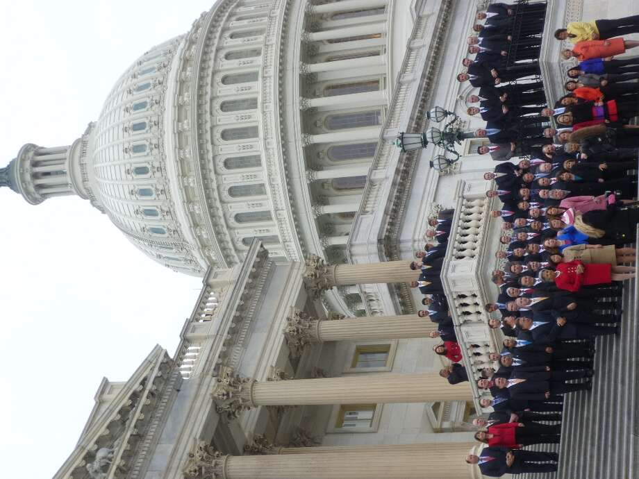 House freshmen pose on the steps of the Capitol for an official photo on Nov. 15.