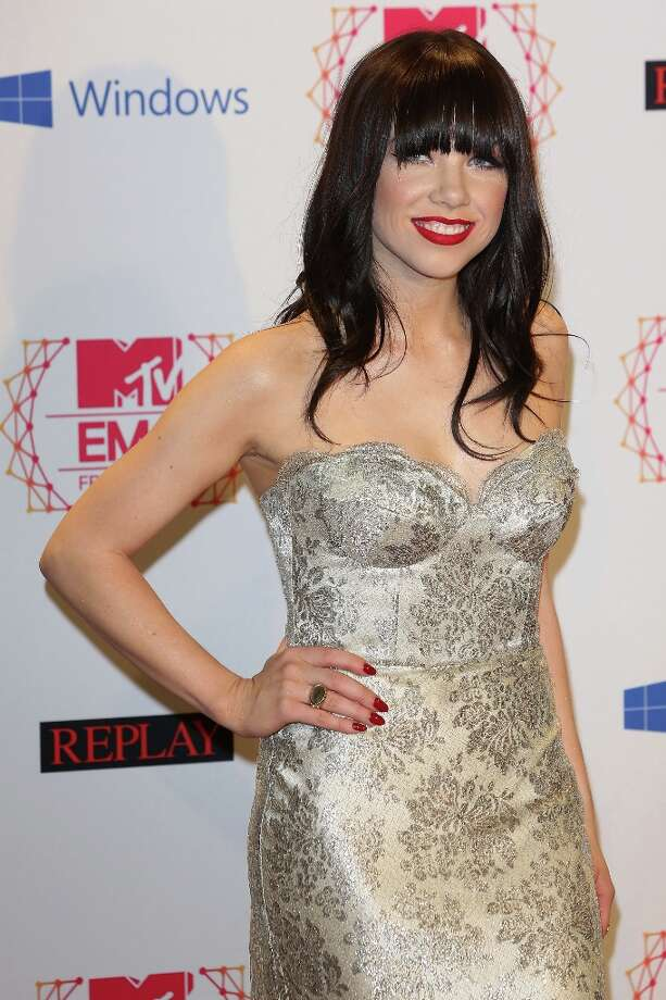Carly Rae Jepsen has been nominated for Breakout Artist.  (Photo by Tim Whitby/Getty Images for MTV) Photo: Tim Whitby, Getty Images For MTV / 2012 Getty Images