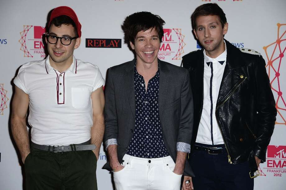 Fun. is also up for Breakout Artist. Photo: Ian Gavan, Getty Images For MTV / 2012 Getty Images