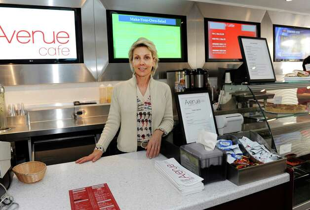 Denise Malpeso, owner of Avenue Cafe in Greenwich, Conn., Thursday, Nov. 15, 2012. Photo: Helen Neafsey / Greenwich Time