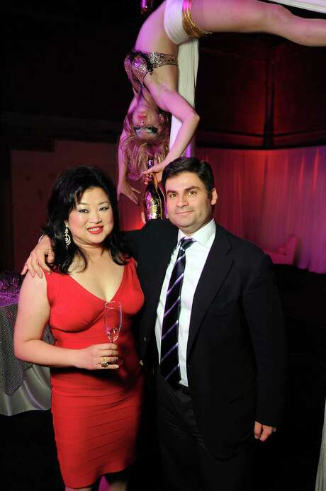 Gigi Huang and Haidar Barbouti at the Fashion Houston afterparty Photo: Dave Rossman, Freelance / © 2012 Dave Rossman