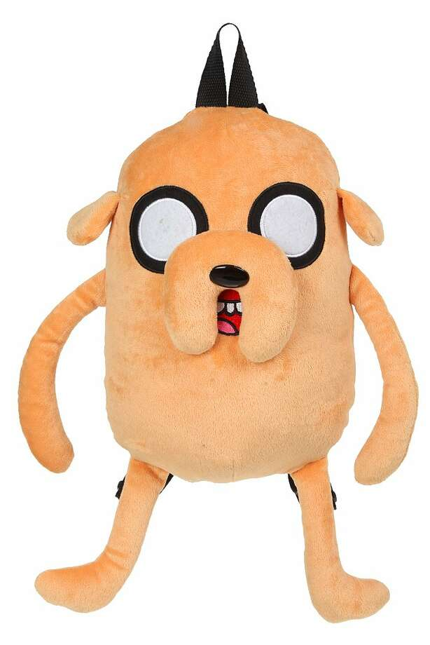 "One more thing — If you need something to stash this loot in, you could do far worse than an envy-inspiring Jake the dog backpack ($22.50 at Hot Topic) based on the hit Cartoon Network series ""Adventure Time."" Photo: Courtesy Hot Topic"