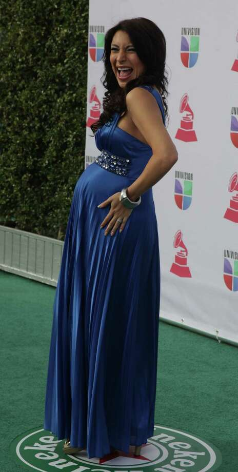 Colombian-born entrepreneur Liliana Gil arrive for the 13th Annual Latin Grammy Awards on November 15, 2012 in Las Vegas, Nevada.    AFP PHOTO/John GURZINSKIJOHN GURZINSKI/AFP/Getty Images Photo: JOHN GURZINSKI, Getty Images / AFP