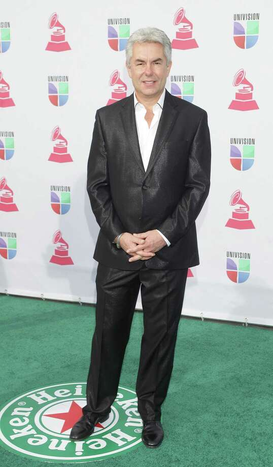Record Producer Gregg Fields arrives for the 13th Annual Latin Grammy Awards on November 15, 2012 in Las Vegas, Nevada.    AFP PHOTO/John GURZINSKIJOHN GURZINSKI/AFP/Getty Images Photo: JOHN GURZINSKI, Getty Images / AFP