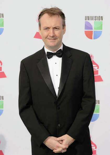 Producer Phil Rowlands arrives at the 13th annual Latin GRAMMY Awards held at the Mandalay Bay Eve
