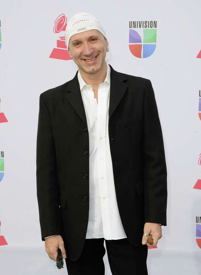 Musician Fabrizio Simoncioni arrives at the 13th annual Latin GRAMMY Awards held at the Mandalay Bay Events Center on November 15, 2012 in Las Vegas, Nevada. Photo: Jason Merritt, Getty Images / 2012 Getty Images