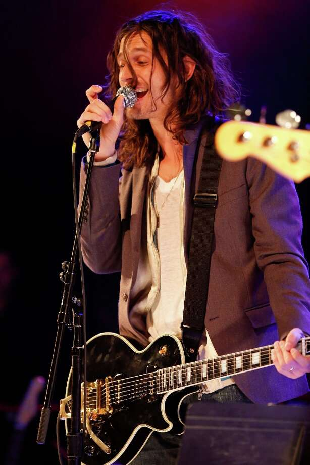 Musician Nick Valensi of The Strokes performs onstage singing 'American Girl' at the first ever Jameson Petty Fest West at El Rey Theatre on November 14, 2012 in Los Angeles, California.  (Photo by Imeh Akpanudosen/Getty Images For Jameson) Photo: Imeh Akpanudosen, Getty Images For Jameson / 2012 Getty Images