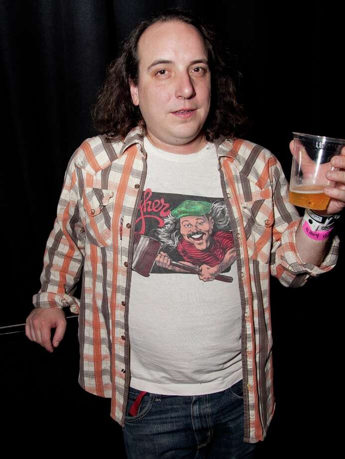 Singer Har Mar Superstar poses backstage at the first ever Jameson Petty Fest West at El Rey Theatre on November 14, 2012 in Los Angeles, California.  (Photo by Imeh Akpanudosen/Getty Images For Jameson) Photo: Imeh Akpanudosen, Getty Images For Jameson / 2012 Getty Images